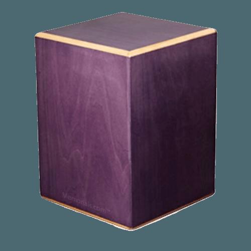 Plum Wood Cremation Urn