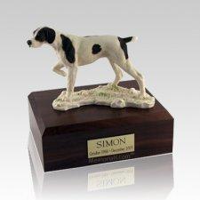 Pointer Large Dog Urn