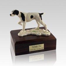 Pointer Medium Dog Urn
