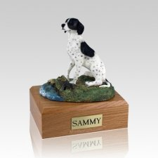 Pointer Sitting Dog Urns