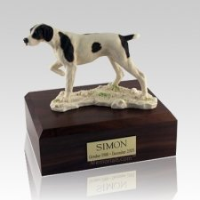 Pointer Dog Urns