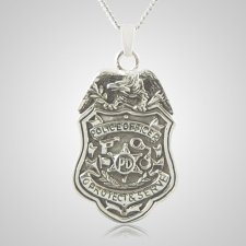 Police Department Keepsake Pendant