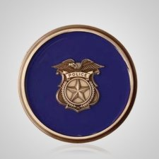 Police Rescue Medallion Appliques