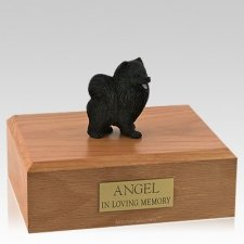 Pomeranian Black Dog Urns