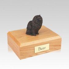 Pomeranian Bronze Medium Dog Urn