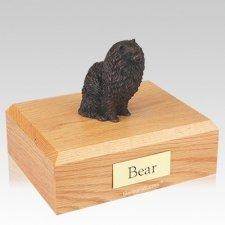 Pomeranian Bronze X Large Dog Urn