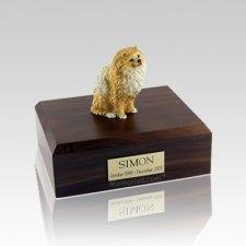 Pomeranian Brown Medium Dog Urn