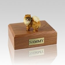 Pomeranian Large Dog Urn