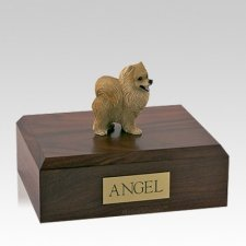 Pomeranian Red Large Dog Urn