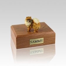 Pomeranian Small Dog Urn