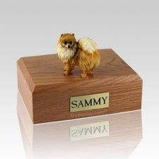 Pomeranian X Large Dog Urn