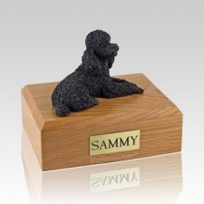 Poodle Black Dog Urns