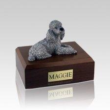 Poodle Gray Medium Dog Urn