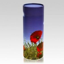 Poppies Pet Scattering Urn