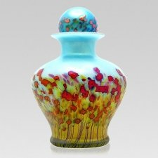 Poppy Glass Cremation Urns
