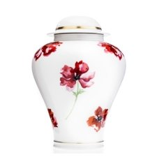 Poppy Porcelain Cremation Urns