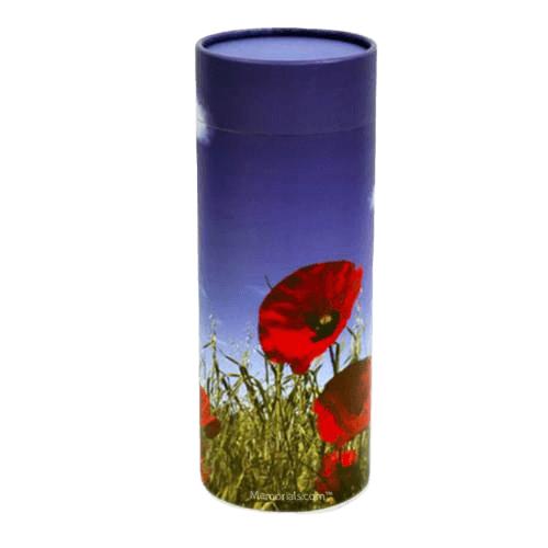 Poppy Scattering Biodegradable Urn