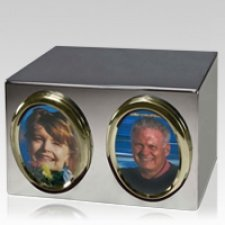 Portrait Companion Cremation Urn