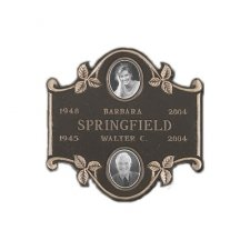 Portrait Niche Plaque for Two