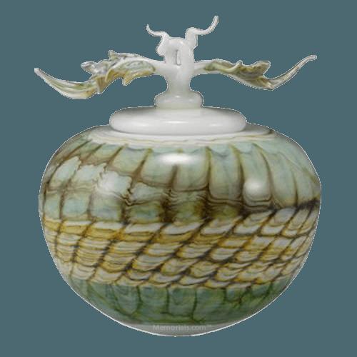 Pothos Sargo Art Cremation Urn