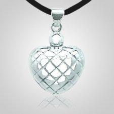 Prairie Heart Cremation Pendant