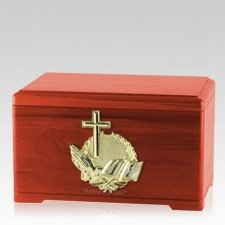 Prayer Cherry Cremation Urn