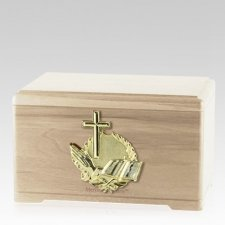 Prayer Maple Cremation Urn