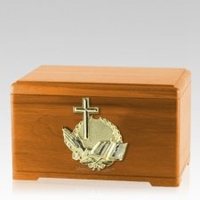 Prayer Oak Cremation Urn