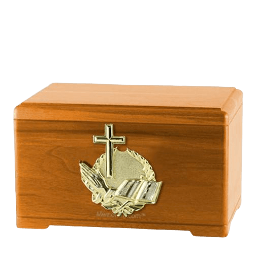 Prayer Oak Cremation Urn