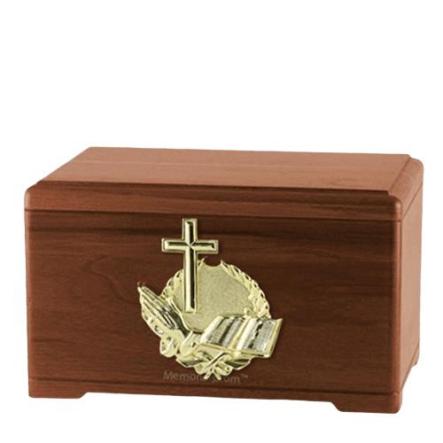 Prayer Walnut Cremation Urn