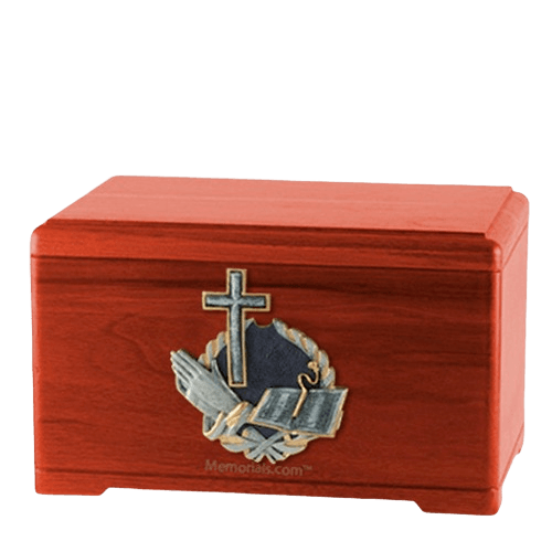 Praying Bible Cremation Urns