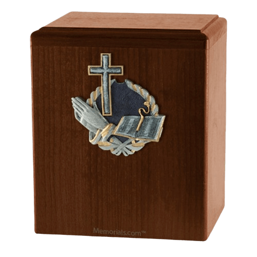 Praying Cross Cremation Urns