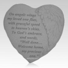 Precious Angel Heart Stone