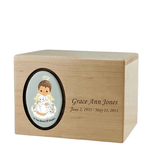 Precious Moments African American Boy Urns