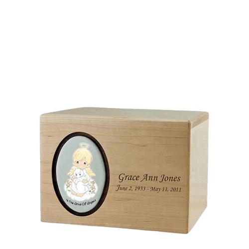 Precious Moments Blonde Boy Small Urn