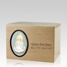 Precious Moments Blonde Boy Urns