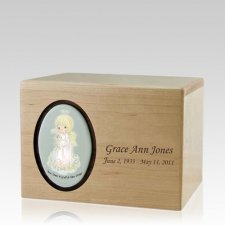Precious Moments Blonde Girl Urns