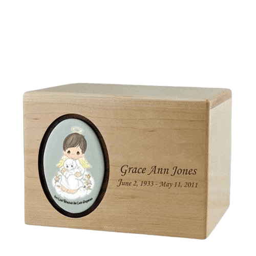 Precious Moments Hispanic Boy Urns