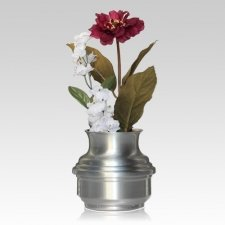 Precious Pewter Flower Vase