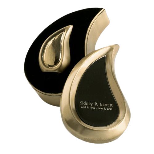 Preemie Teardrop Bronze Cremation Urn
