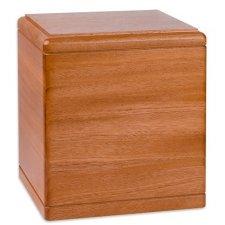 Presidents Mahogany Wood Cremation Urn