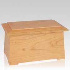 Prestige Natural Cherry Cremation Urn