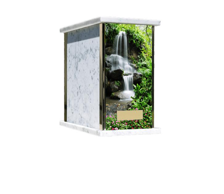 Prim Waterfall Cremation Urn