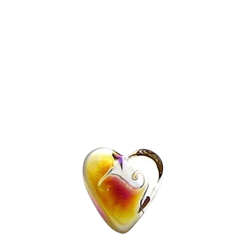 Prism Glass Heart Keepsake