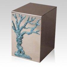 Pristino Arbor Vitae Steel Urn