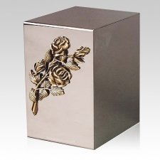 Pristino Bronze Rose Steel Urn