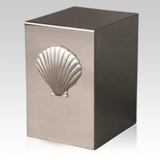 Pristino Shell Steel Urn
