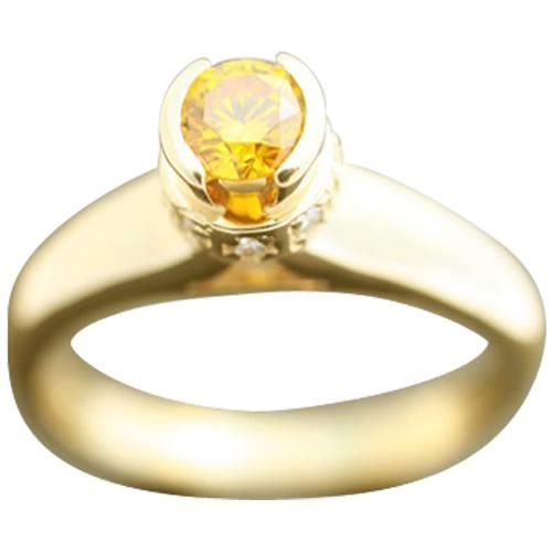 Prong Bezel Set Ring