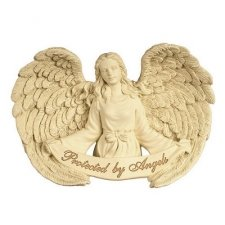 Protected Angel Remembrance Sign
