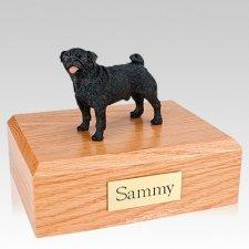 Pug Black X Large Dog Urn